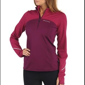 Brooks Utopia Thermal 1/2 Zip Running Jacket M